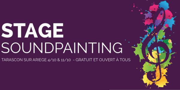 Tarascon sur Ariège : stage de soundpainting