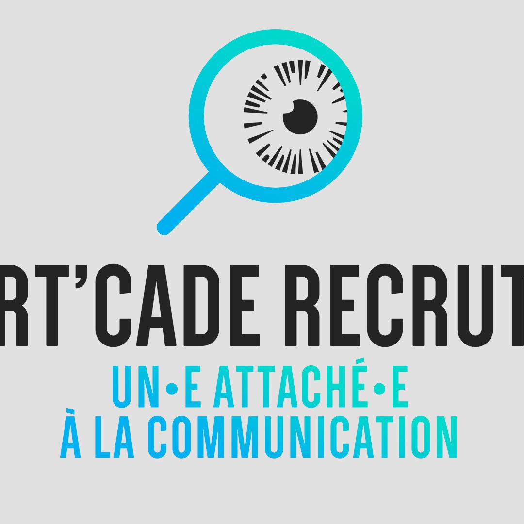 Art'Cade recherche un.e attaché.e de communication