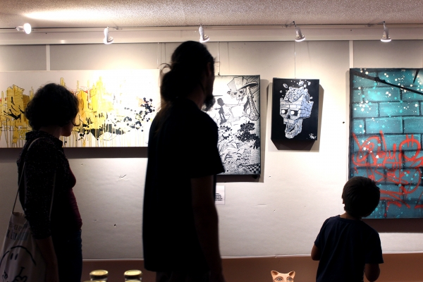 ArtCade Inauguration-vernissage BlockParty Foix 050917 (2)