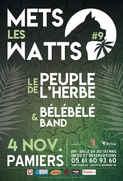 ArtCade MLW9 Le-Peuple-de-Herbe BeleBele-Band 171104 Affiche-web